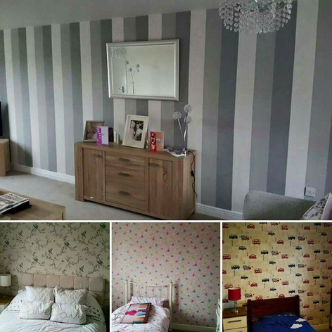 Wallpaper hanging |  | Painters & Decorators Leicestershire